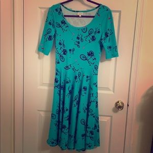 LuLaRoe Nicole Bicycle Dress, size medium